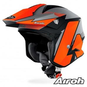 Casco Moto Airoh TRR S Pure - Arancione Opaco