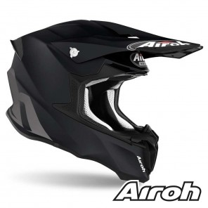 Casco Airoh TWIST 2.0 Color - Nero Opaco