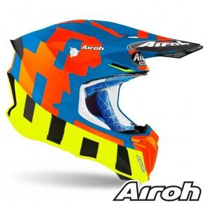 Casco Airoh TWIST 2.0 Frame - Azzurro Opaco