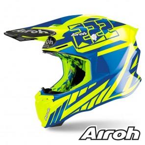 Casco Motocross Airoh TWIN 2.0 Replica Cairoli 2020 - Lucido