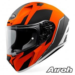 Casco Moto Integrale Airoh VALOR Wings - Arancione Opaco