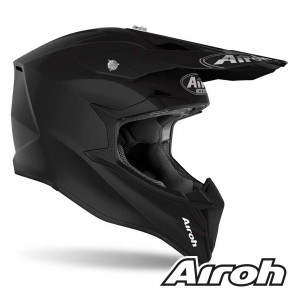 Casco Airoh WRAAP Color - Nero Opaco