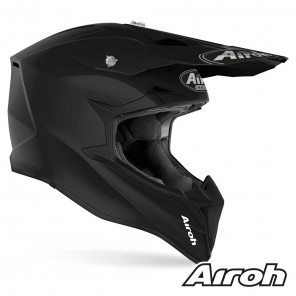 Casco Airoh WRAAP YOUTH Color - Nero Opaco