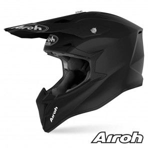 Casco Motocross Airoh WRAAP YOUTH Color - Nero Opaco