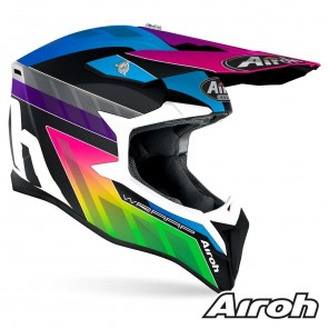 Casco Airoh WRAAP YOUTH Prism - Opaco