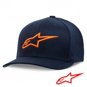 Cappellino Alpinestars AGELESS CURVE - Navy Orange