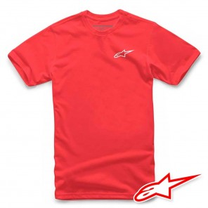 Maglietta Alpinestars NEU AGELESS - Rosso Bianco