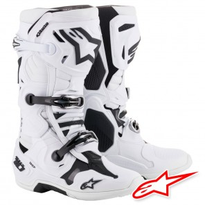 Stivali Cross Alpinestars TECH 10 - Bianco