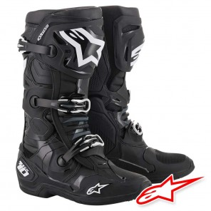 Stivali Cross Alpinestars TECH 10 - Nero