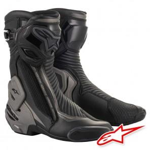 Stivali Moto Alpinestars SMX PLUS V2 - Nero Grigio Scuro