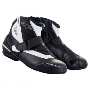 Stivali da Moto Alpinestars SMX-1 R V2 - Nero Bianco