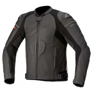 Giacca Pelle Moto Alpinestars GP PLUS R V3 RIDEKNIT - Nero Nero