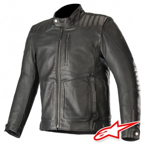 Giacca Pelle Alpinestars CRAZY EIGHT - Nero