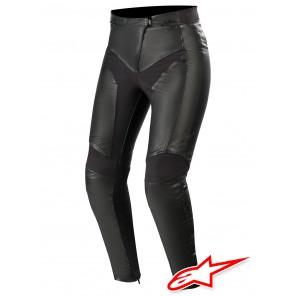 Pantaloni Pelle Donna Alpinestars STELLA VIKA V2 - Nero