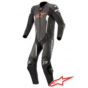 Tuta Racing Alpinestars MISSILE TECH-AIR™ Airbag - Nero Rosso Fluo Bianco