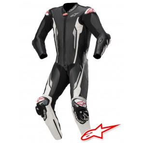 Tuta Alpinestars RACING ABSOLUTE TECH-AIR™ Airbag - Nero Bianco