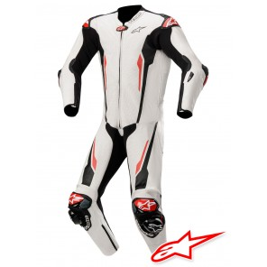 Tuta Alpinestars RACING ABSOLUTE TECH-AIR™ Airbag - Bianco Nero