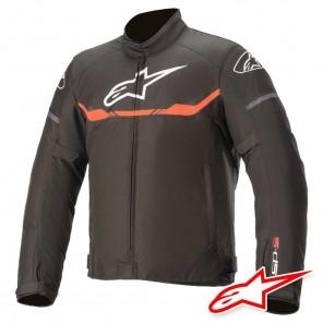 Giacca Moto Alpinestars T-SP S WATERPROOF - Nero Rosso Fluo