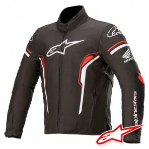 Giacca Moto Alpinestars HONDA T-SP-1 WATERPROOF - Nero Bianco Rosso