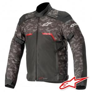 Giacca Alpinestars HYPER DRYSTAR - Nero Camo Rosso