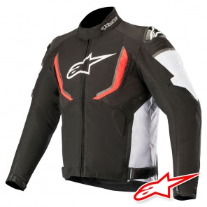 Giacca Alpinestars T-GP R V2 WATERPROOF - Nero Bianco Rosso