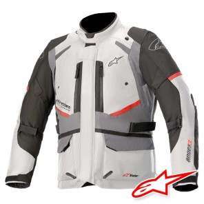 Giacca Moto Alpinestars ANDES V3 DRYSTAR - Ice Grey Dark Grey