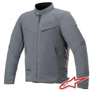 Giacca Moto Alpinestars T-BURSTUN DRYSTAR - Storm Grey