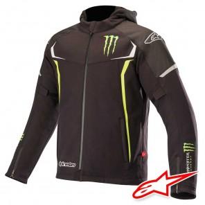 Giacca Moto Alpinestars MONSTER ENERGY ORION TECHSHELL DRYSTAR - Nero Verde