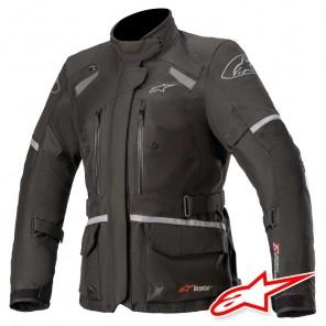 Giacca Moto Donna Alpinestars STELLA ANDES V3 DRYSTAR - Nero Grigio Scuro