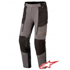 Pantaloni Touring Alpinestars VALPARAISO V3 DRYSTAR - Grigio Scuro Nero
