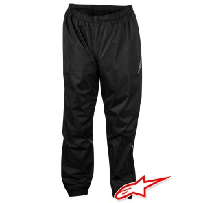 Pantaloni Antipioggia Moto Alpinestars HURRICANE - Nero