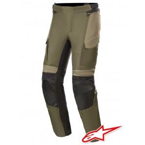 Pantaloni Moto Alpinestars ANDES V3 DRYSTAR - Forest Military Green