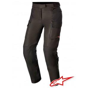 Pantaloni Touring Donna Alpinestars STELLA VALPARAISO V3 DRYSTAR - Nero