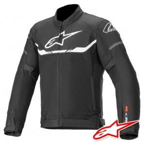 Giacca Moto Alpinestars T-SPS AIR - Nero Bianco