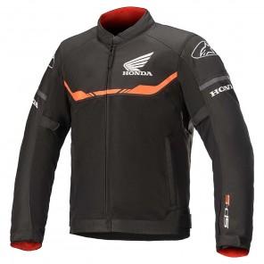 Giacca Moto Alpinestars HONDA T-SPS AIR - Nero Rosso Vivo
