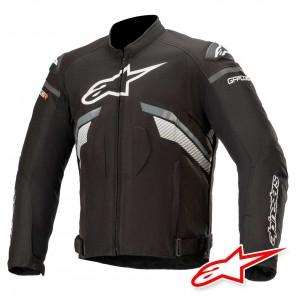 Giacca Moto Alpinestars T-GP PLUS R V3 - Nero Grigio Scuro Bianco