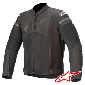 Giacca Moto Alpinestars T-GP PLUS R V3 AIR - Nero Nero
