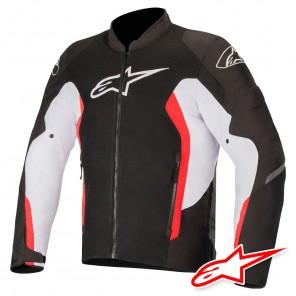 Giacca Alpinestars VIPER V2 AIR - Nero Bianco Rosso Luminoso