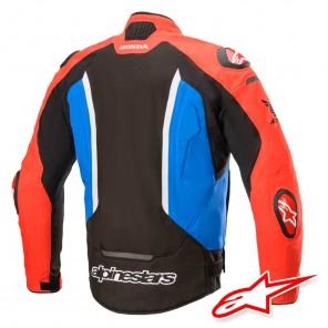 Giacca Alpinestars HONDA T-GP PRO V2 - Nero Rosso Blu