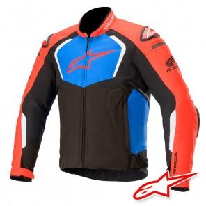 Giacca Moto Alpinestars HONDA T-GP PRO V2 - Nero Rosso Blu