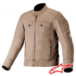 Giacca Alpinestars RAY CANVAS V2 - Cachi Scuro