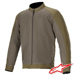 Giacca Moto Alpinestars CALABASAS AIR - Verde Militare