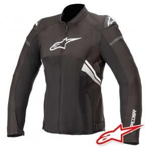 Giacca Moto Donna Alpinestars STELLA T-GP PLUS R V3 AIR - Nero Bianco