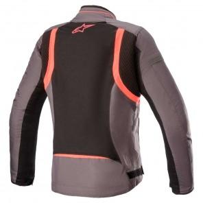 Giacca Alpinestars STELLA T-KIRA V2 AIR - Tar Grey Black Diva Pink