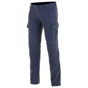 Pantaloni Moto Alpinestars CARGO Riding Pants - Blue Distressed