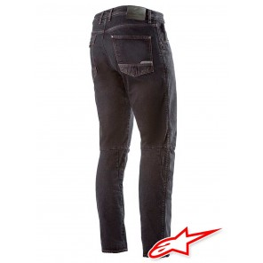 Jeans Alpinestars ALU Denim - Black Overdyed