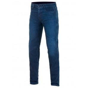 Jeans Moto Alpinestars COPPER V2 PLUS Denim Pants - Dark Aged Blue