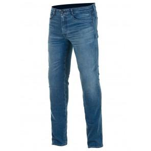 Jeans Moto Alpinestars COPPER V2 PLUS Denim Pants - Aged Worn Blue