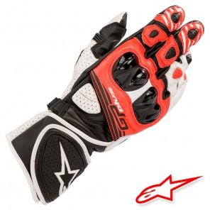 Guanti Alpinestars GP PLUS R V2 - Nero Bianco Rosso Brillante