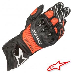 Guanti Alpinestars GP PRO R3 - Nero Rosso Fluo